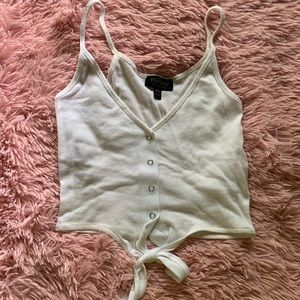 Top shop cropped cami